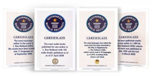 4 svetove rekordy pre L. Rona Hubbarda